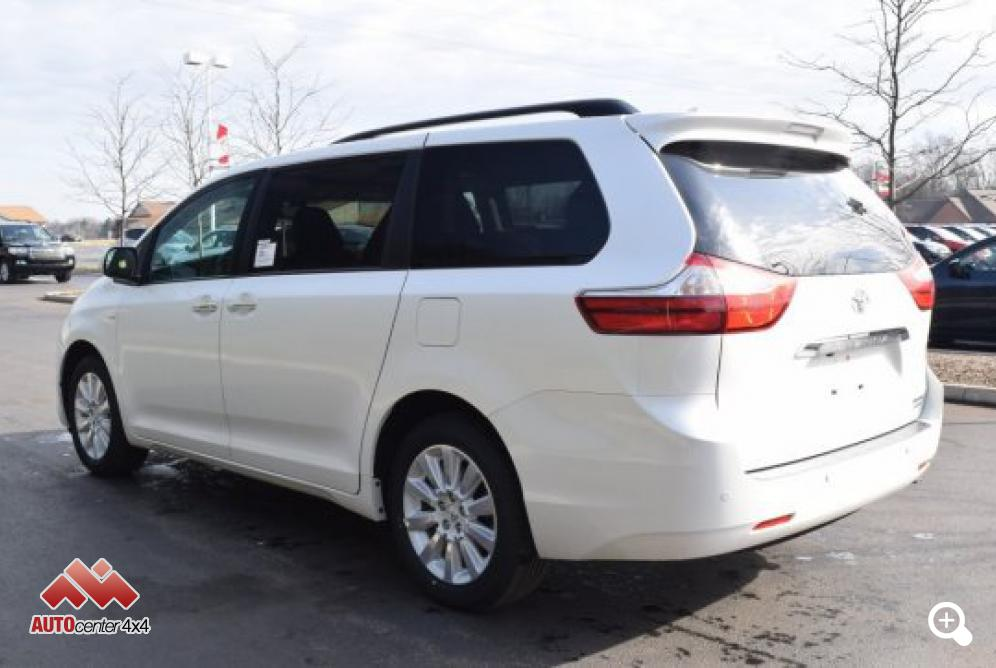2016 Toyota Sienna Xle Awd Limited Package
